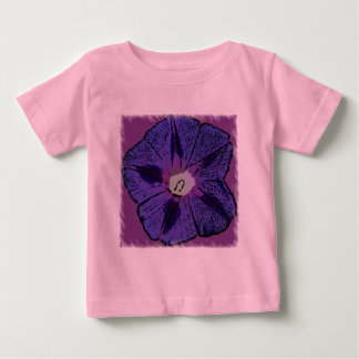 Morning Glory Abstract Baby T-Shirt