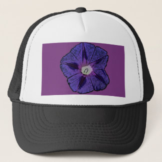 Morning Glory Abstract Trucker Hat