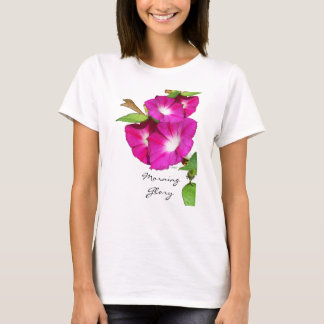 Morning Glory and Heart T-Shirt