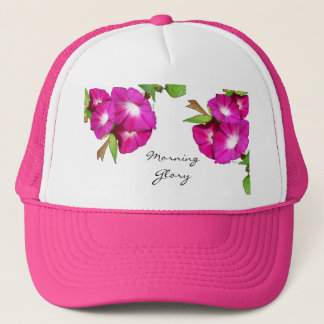 Morning Glory and Heart Trucker Hat