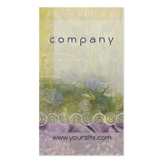 Morning Glory and Lace Light Business Card