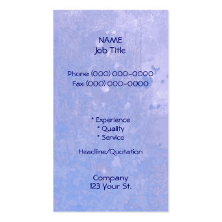 Morning Glory Blues Business Card