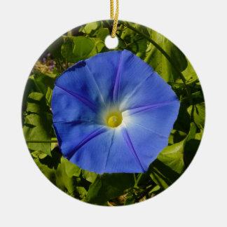 Morning Glory Ceramic Ornament