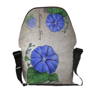 Morning Glory Customizable Messenger Bag