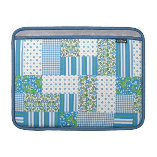 Morning Glory Faux Patchwork MacBook Air Sleeve