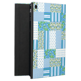 Morning Glory Faux Patchwork Powis iPad Air Case