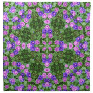 Morning Glory Floral Deco Napkin