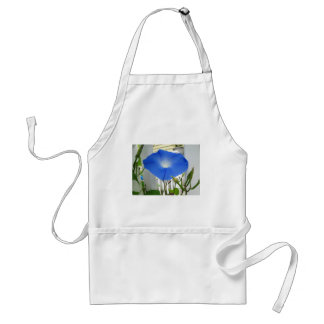 Morning Glory Flower Adult Apron