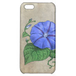 Morning Glory Flower Art Cover For iPhone 5C