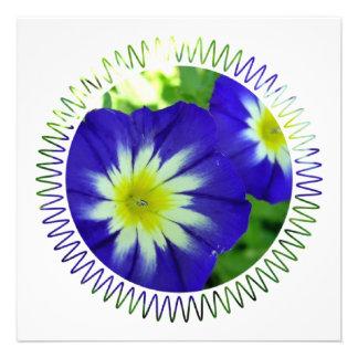 Morning Glory Flower invitations'