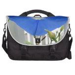 Morning Glory Flower Laptop Bag