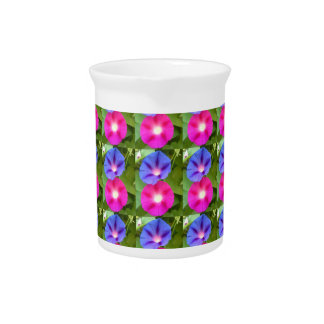 MORNING GLORY FLOWER picther Beverage Pitcher
