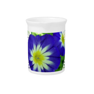 Morning Glory Flower Pitcher