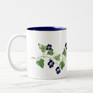 Morning Glory Flowers Floral Garden Mug