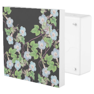 Morning Glory Flowers Floral Inlet Outlet Cover