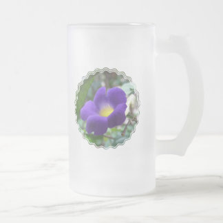 Morning Glory Frosted Beer Mug