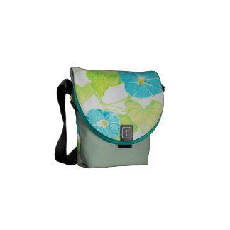 Morning Glory (Jade/Turquoise) Messenger Bag