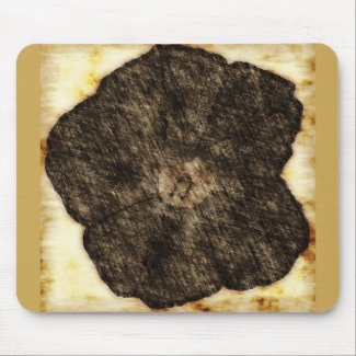 Morning Glory Old Time Sketch zazzle_mousepad