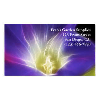 Morning Glory Photo Fractal Double-Sided Standard Business Cards (Pack Of 100)