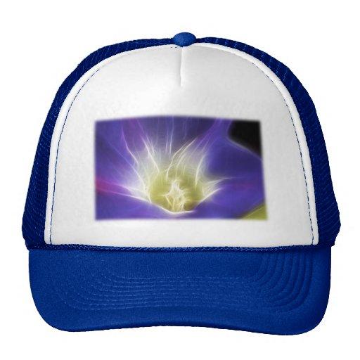 Morning Glory Photo Fractal Hat