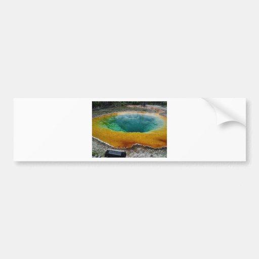 morning-glory-pool bumper sticker