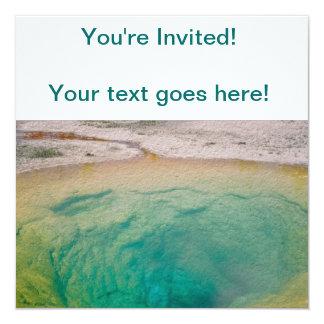 Morning Glory Pool Invitation