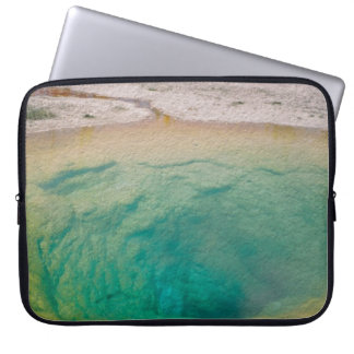 Morning Glory Pool Laptop Sleeve