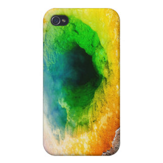 Morning Glory Pool - Yellowstone iPhone 4 Cases