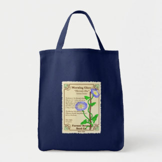 Morning Glory Seed Packet Tote Bag