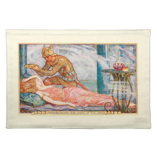 Morning Glory the Fairy of the Dawn Cloth Placemat