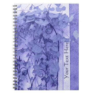 Morning Glory Trellis Violet Sketch Journal