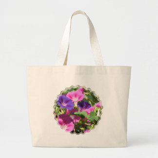 Morning Glory Vines Canvas Bag