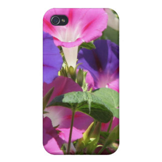 Morning Glory Vines iPhone Case iPhone 4 Cover