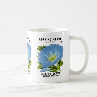Morning Glory Vintage Seed Packet Coffee Mug