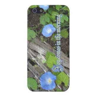 Morning Glory Watercolor Case For iPhone 5