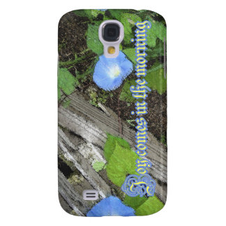 Morning Glory Watercolor Galaxy S4 Cover