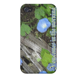Morning Glory Watercolor iPhone 4/4S Cases