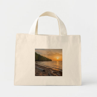 Morning Glow Mini Tote Bag