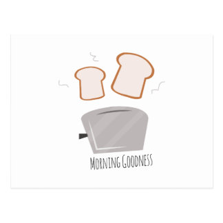 Morning Goodness Postcard