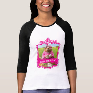 Morning Groundhog with Breakfast Donut and Coffee Tee Shirt