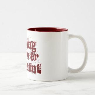 Morning hangover treatment Two-Tone coffee mug
