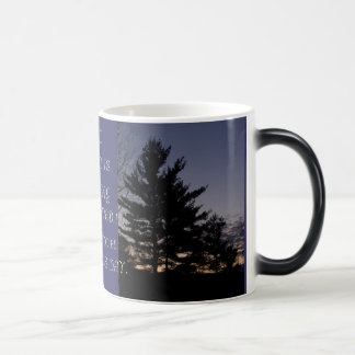 MORNING HAS ARRIVED MORPHING COFFEE MUG