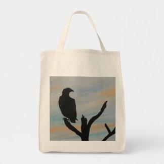 MORNING HAWK Tote Bag