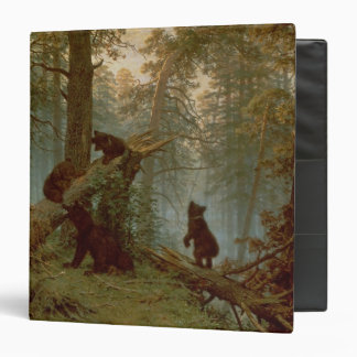 Morning in a Pine Forest, 1889 3 Ring Binders