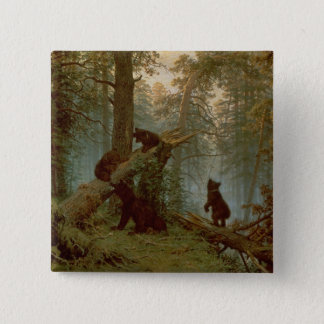 Morning in a Pine Forest, 1889 Button