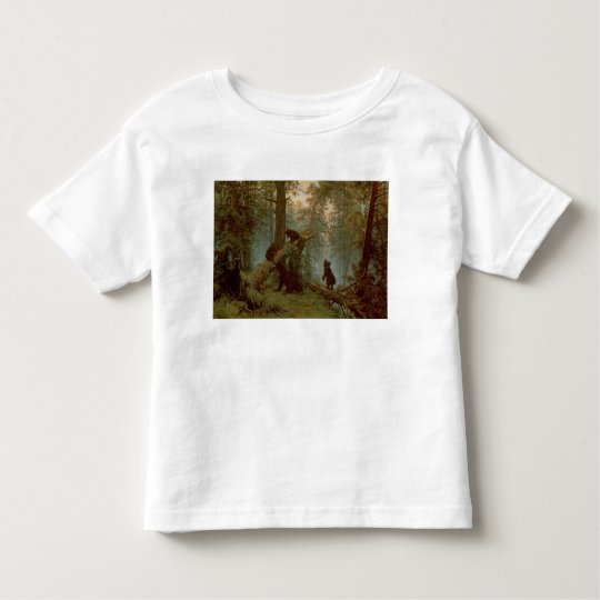 Morning in a Pine Forest, 1889 Toddler T-shirt