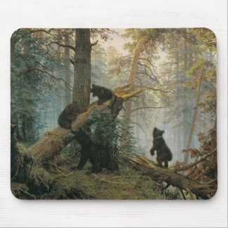 Morning in a Pine Forest Mouse Pad