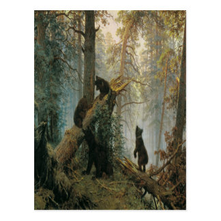 'Morning in a Pine Forest' Postcard