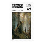 'Morning in a Pine Forest' Stamp