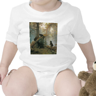 Morning in a Pine Forest T Shirt